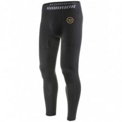 Warrior Dynasty Nutt Hutt dolge kompresijske hokejske spodnje hlače s suspenzorjem - Senior