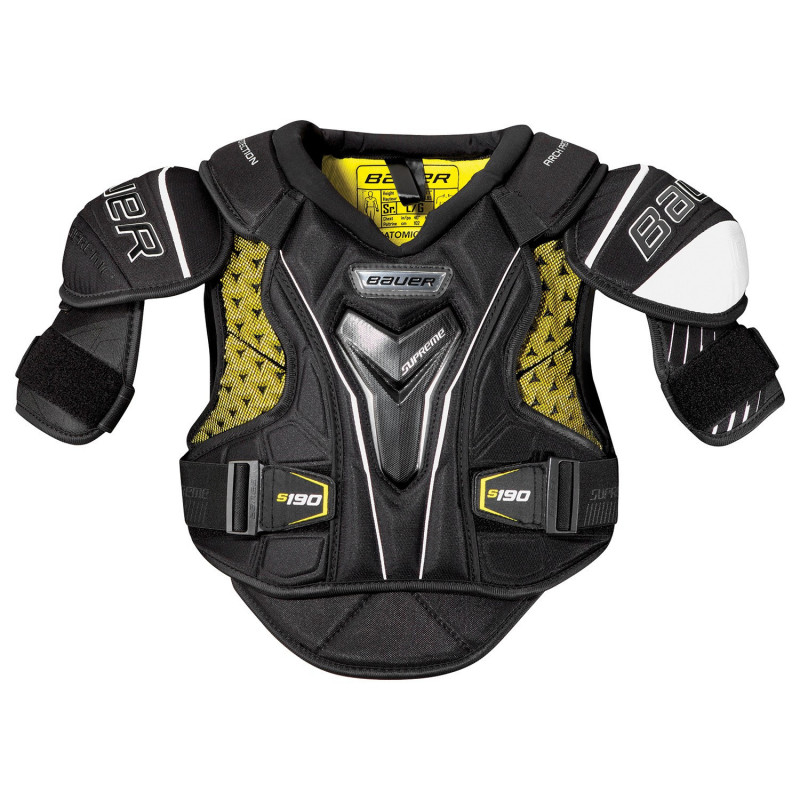 Bauer Supreme S190 Junior hokejski ščitniki za ramena - '17 Model