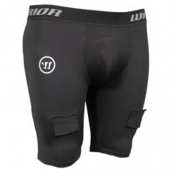 Warrior Nutt Hutt kratke kompresijske hokejske spodnje hlače s suspenzorjem - Youth